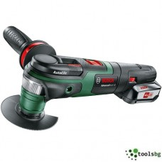 GREEN BOSCH ADVANCED MULTI 18 - АКУМУЛАТОРЕН МУЛТИШЛАЙФ