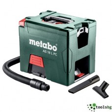 METABO AS 18 L PC SOLO - ПРОФЕСИОНАЛНА АКУМУЛАТОРНА ПРАХОСМУКАЧКА
